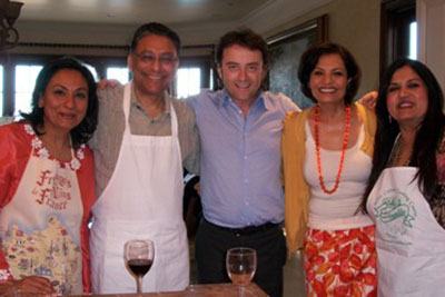 Vinod Dham and Family